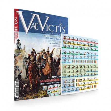 VaeVictis n°114 Edition jeu   La bataille de Paris 1814