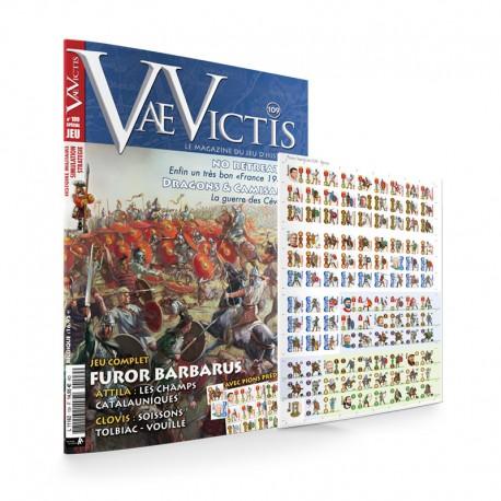 VaeVictis n°109 Edition JEU Furor Barbarus