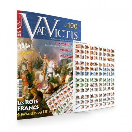 VaeVictis n°100 Edition jeu  Les Rois Francs