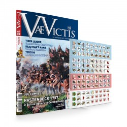 VaeVictis n°125 Edition JEU Hestenbeck 1757