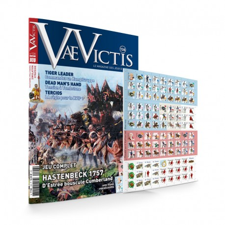 VaeVictis n°126 Edition JEU Hastenbeck 1757