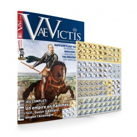 VaeVictis n°127 Game issue Empire in Flammes 1631