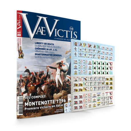 VaeVictis n°128 Game issue Montenotte 1796