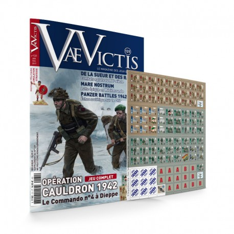 VaeVictis n°131 Edition JEU - Opération Cauldron 1942