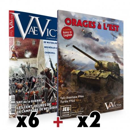 Abonnement couplé, 6 magazines + 2 jeux, Export