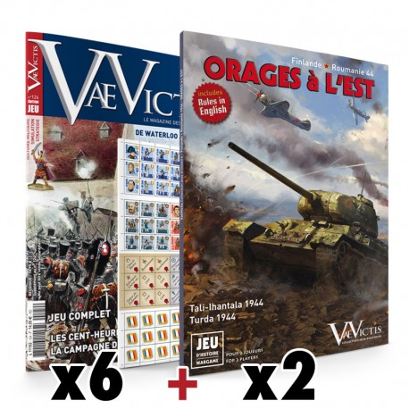 "Subcription 6 ""Special Game"" issues + 2 wargames - Export"