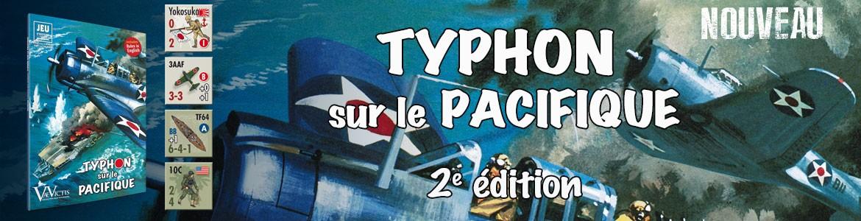 Typhon sur le Pacifique